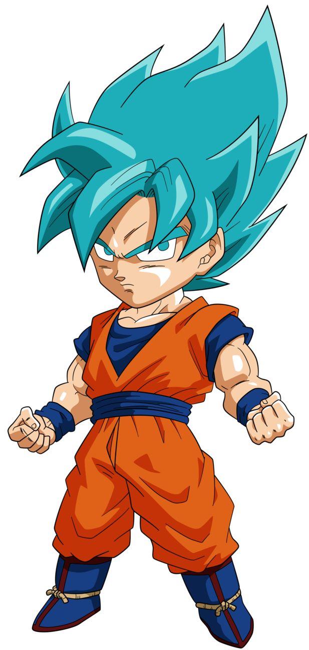 Goku SSGSS - Personajes Chibi de Dragon Ball