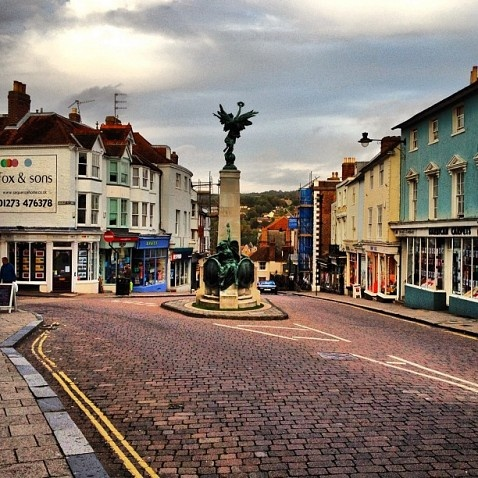 Lewes Town Centre