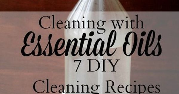 7 DIY cleaning recipes using essential oils | Window, Cleaning schedules and Favorite things