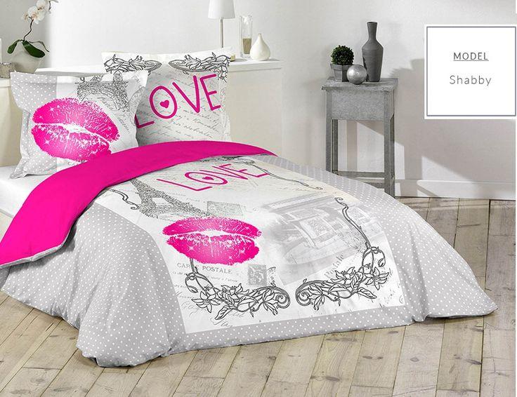 Bavlnené sivé posteľné návliečky