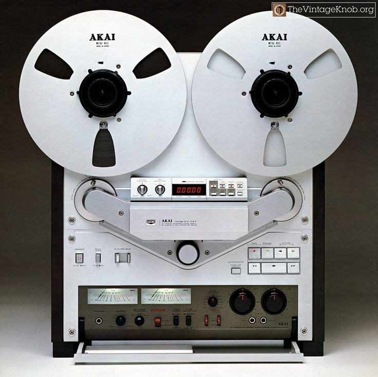 reel to reel player recorder