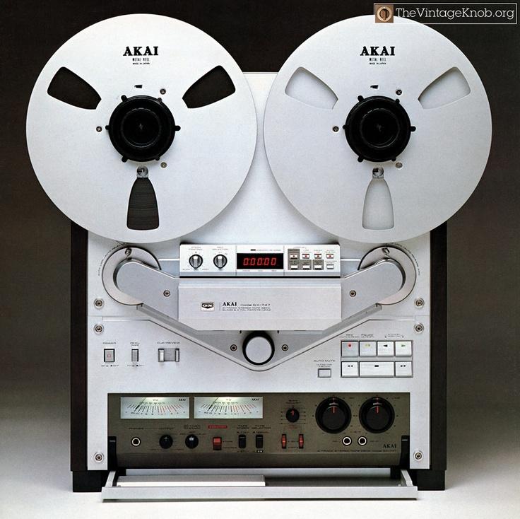 Bildergebnis für Akai vintage tape