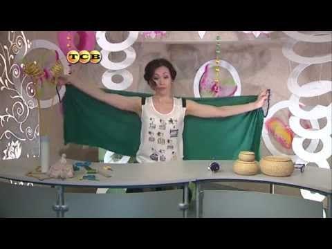 Hand-made - Парэо своими руками - YouTube