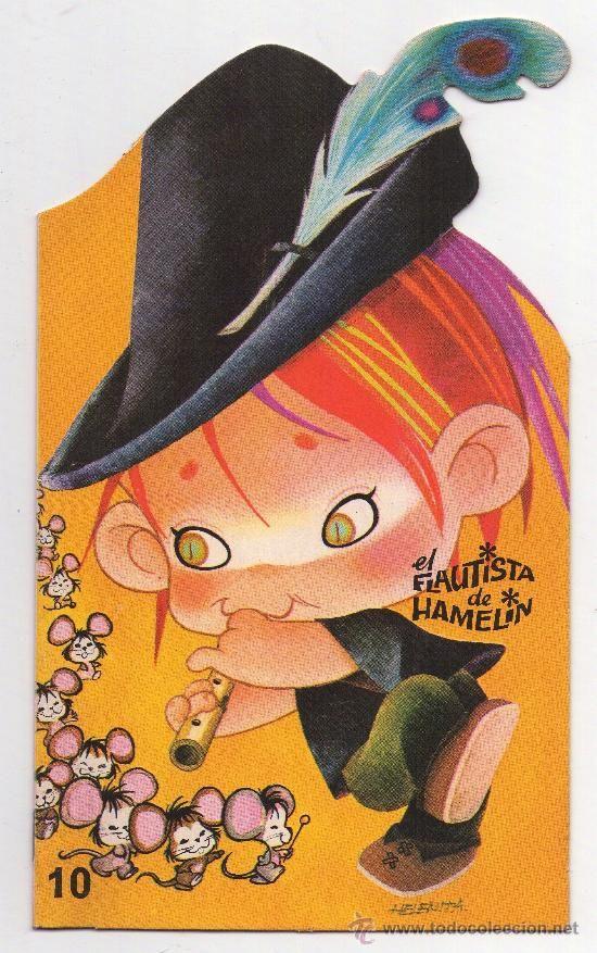 CUENTO INFANTIL - EL FLAUTISTA DE HAMELIN  EDITORIAL ROMA - 1.968