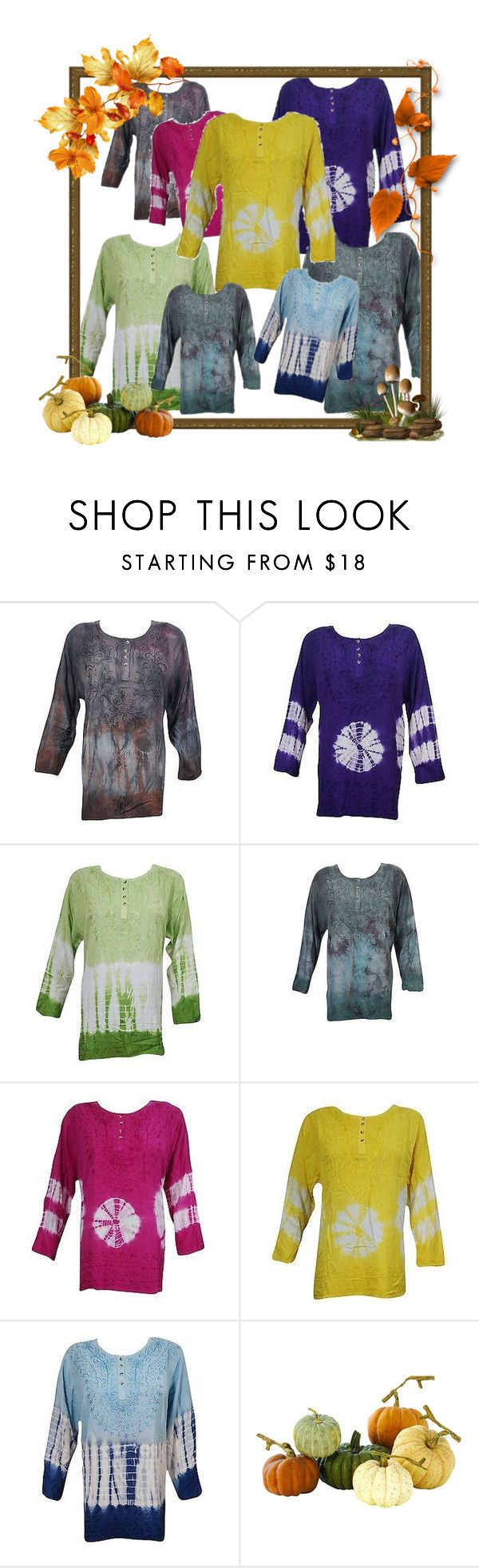 Boho Tie Dye Blouse Tops by baydeals on Polyvore featuring Home Decorators Collection  http://stores.ebay.com/mogulgallery/TOPS-BLOUSES-/_i.html?_fsub=901626119&_sid=3781319&_trksid=p4634.c0.m322