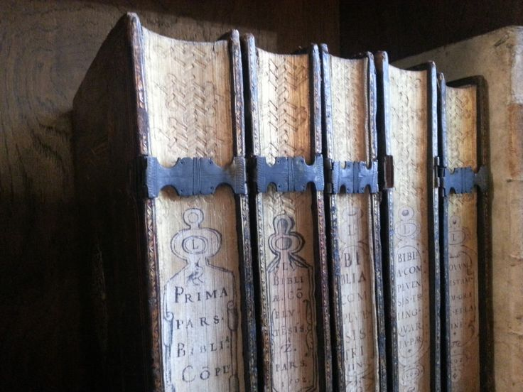 Old books from the collection of the Carmelites Library, Cracov
