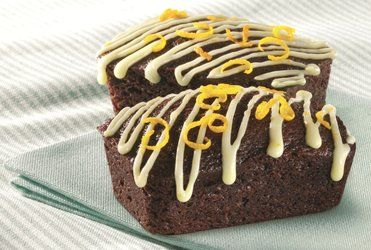 recipe-Mini Ginger and Orange Loaf Cakes