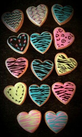 Biscotti decorati con glassa