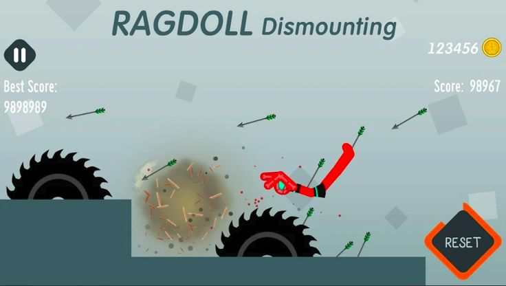 Ragdoll Dismounting Mod Unlimited Coins Free For Android