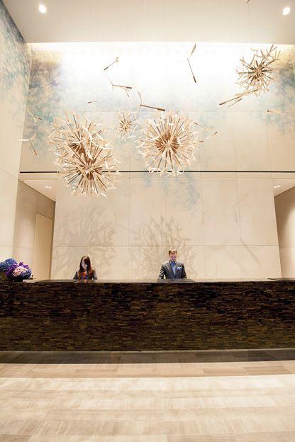 Nochmal ein Schnappschuss vom Four Seasons Hotel in Toronto.