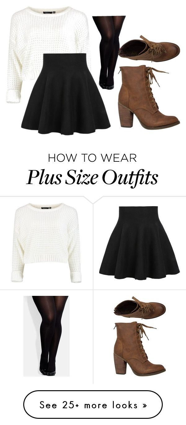 """~Untitled #17~"" by tillyann on Polyvore featuring City Chic and Rebels"