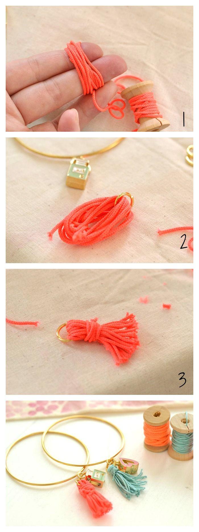 como hacer pulseras fáciles con abalorios paso a paso