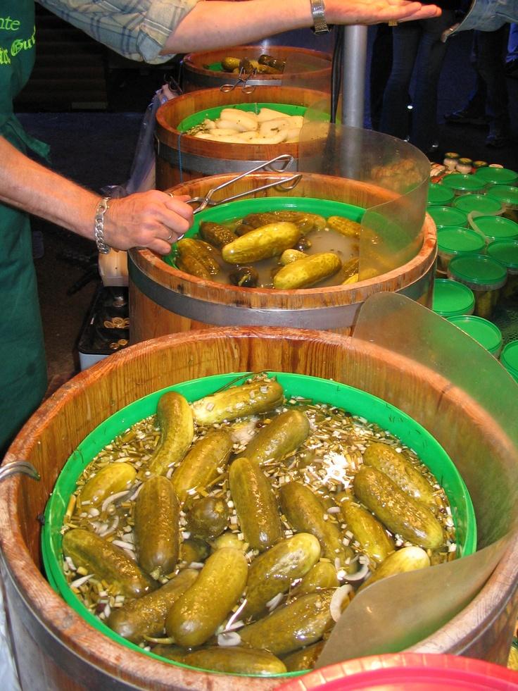 Gerkins- saled gherkins the best snack ever!!!