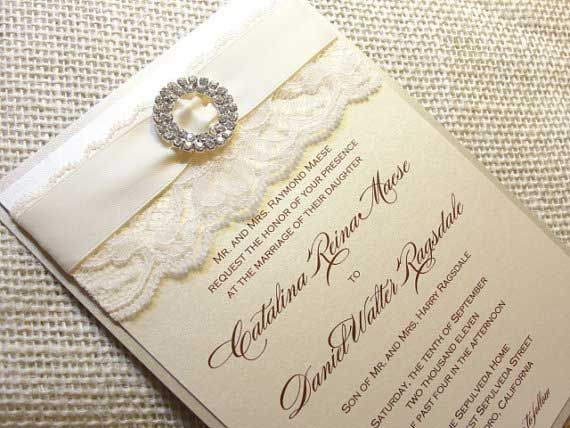 103 best invitation cards images on pinterest invitation cards beautiful makeup is our hallmark laced wedding invitations solutioingenieria Images