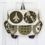 Combat Army Green Postman Satchel Style Backpack - by OneBusySloth on madeit
