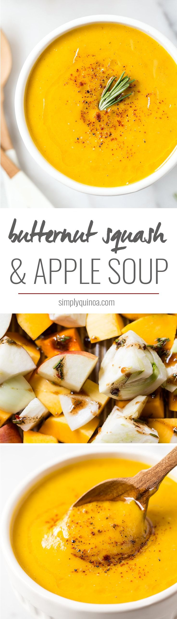 how to make apple soup