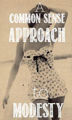My Grandest Adventure: Swimsuit Modesty-- Judgemental or Just Common Sense?