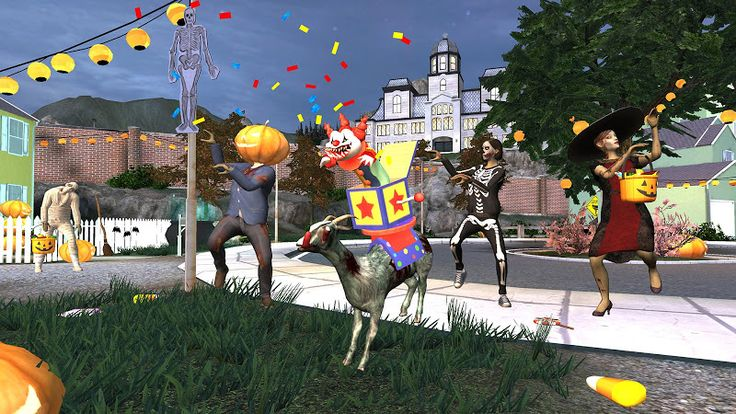 """Goat Simulator GoatZ v1.4.6   Goat Simulator GoatZ v1.4.6Requirements:Android 4.0.3 or higherOverview:GoatZ - the last official world new """"simulator goat (Goat Simulator) which claims to be the most stupid of all time news from Coffee Stain Studios - goat and zombies in one game!  GoatZ is the latest official addition to the Goat Simulator universe and is a fine contender for the dumbest thing to come from Coffee Stain Studios yet - GOATS AND ZOMBIES IN THE SAME GAME! Well if youre not…"""
