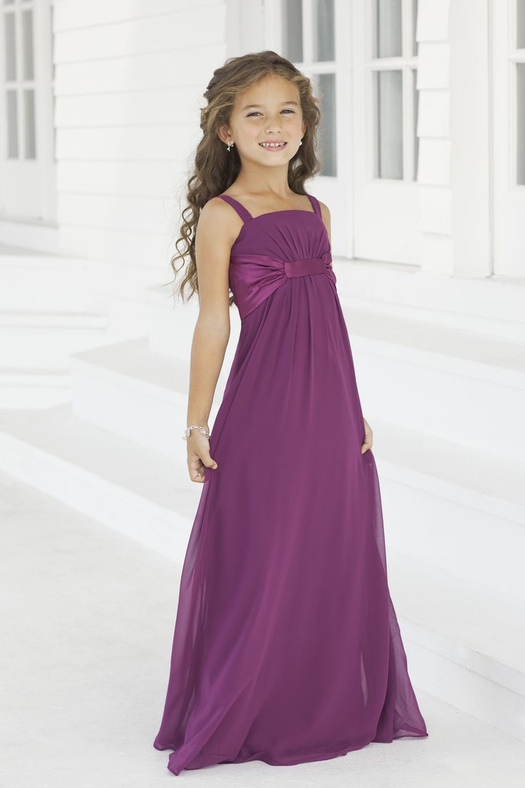 Best 25 childrens bridesmaid dresses ideas on pinterest flower charmeuse gatheredpleatedstraps style 40 junior bridesmaid dress by alexia designs style 2974 color coral ombrellifo Images