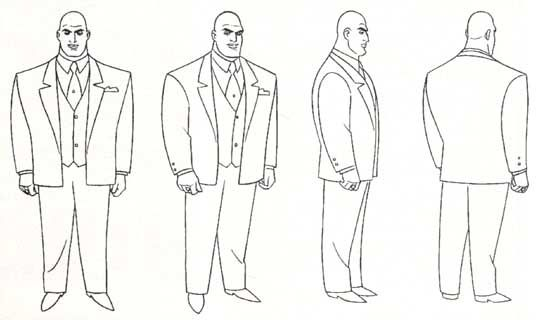 Comic Book Character Design : Bruce timm model sheets handpicked ideas to discover