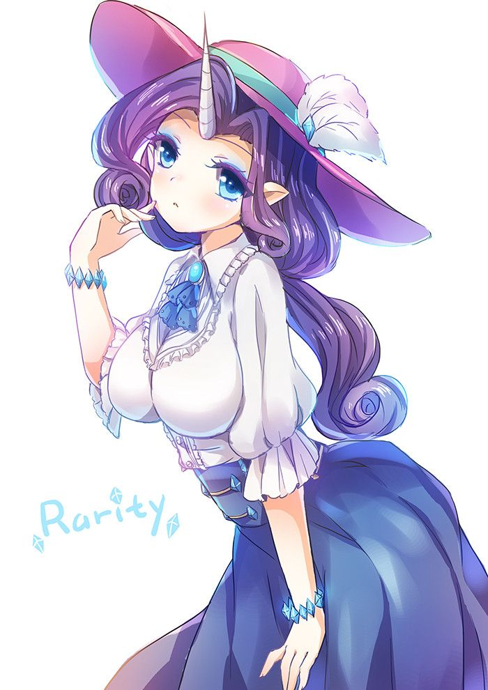 My Little Pony, Rarity, by Emia (pixiv:2888863)