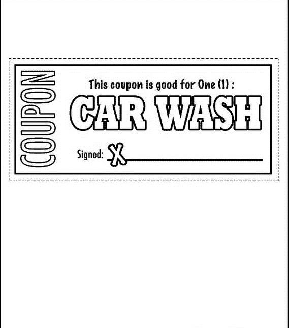 Fathers Day Adult Coloring Pages Car Wash Coupons Father S Day