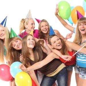 birthday girl party teen