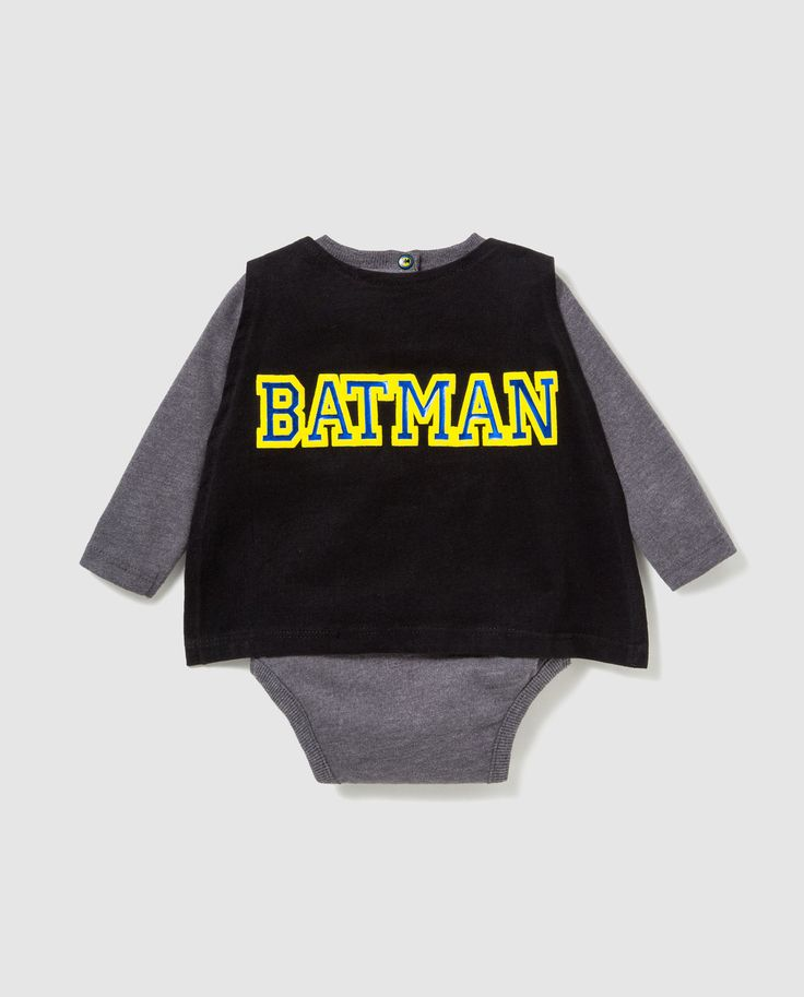Batman baby caped body