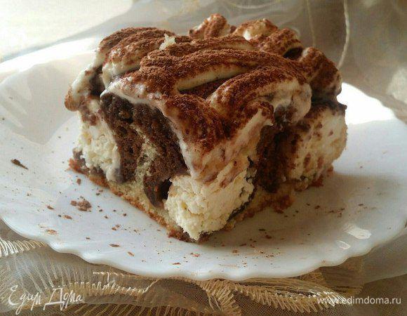 Пирог «Утренняя роса». Ингредиенты: творог, сахар, яичные желтки