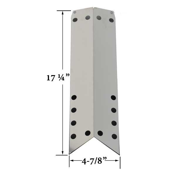 REPLACEMENT STAINLESS STEEL HEAT SHIELD FOR DURO 720-0584A, JENN AIR 720-0650 & KMART 640-82960819-9 GAS MODELS Fits Compatible Duro Models : 720-0584A Read More @ http://www.grillpartszone.com/shopexd.asp?id=35714&sid=15714