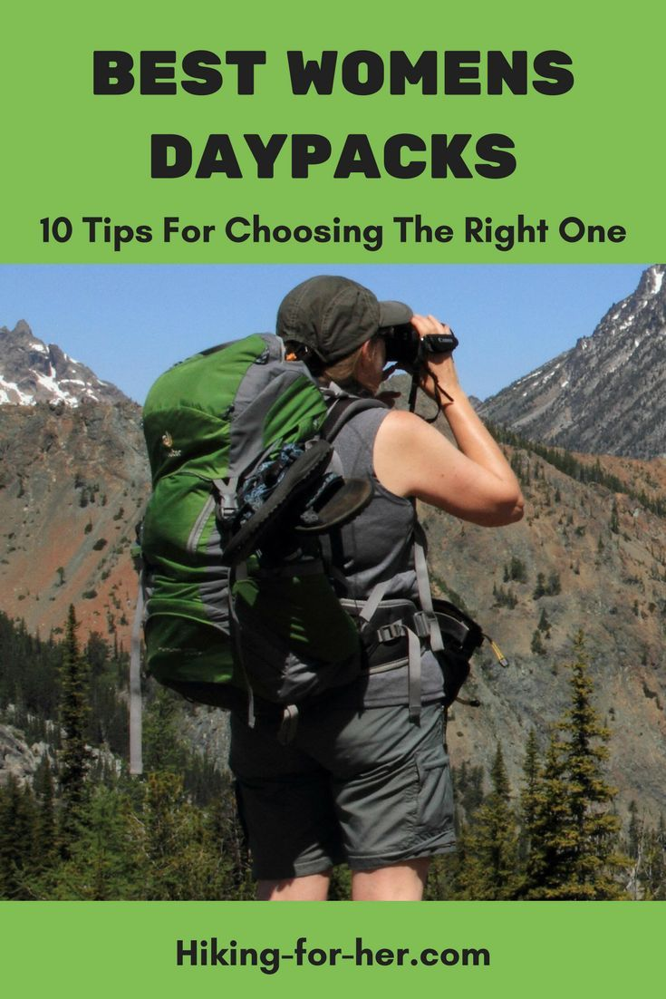 The best womens daypacks for hiking fit like a glove and carry essential  hiking gear year after year. Use these 10 tips to choose the best day pack  for you. 82126f28c6