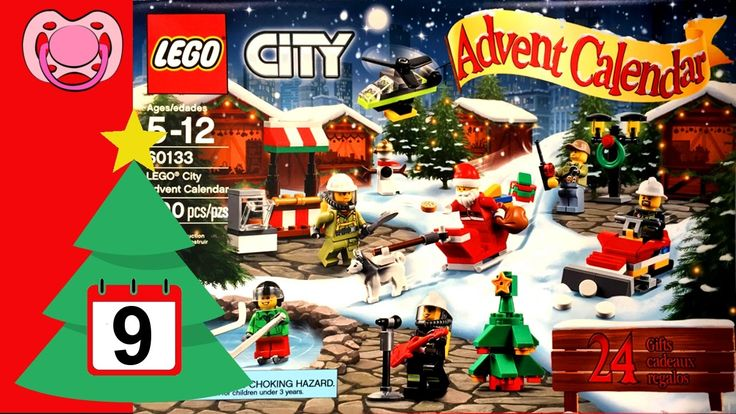 Lego - Natal 2016 - Calendário do advento 🎄 9 de Dezembro