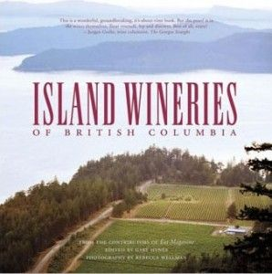 Book cover of Island Wineries of British Columbia