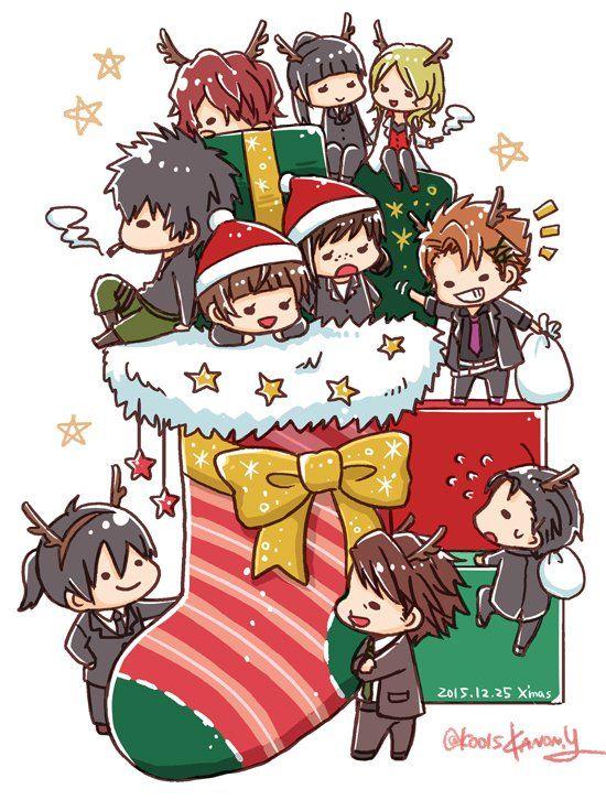 Psycho Pass. MERRY CHRISTMAS!! 遅くなったけどサイコパスでメリークリスマス!!素敵な夜を。。