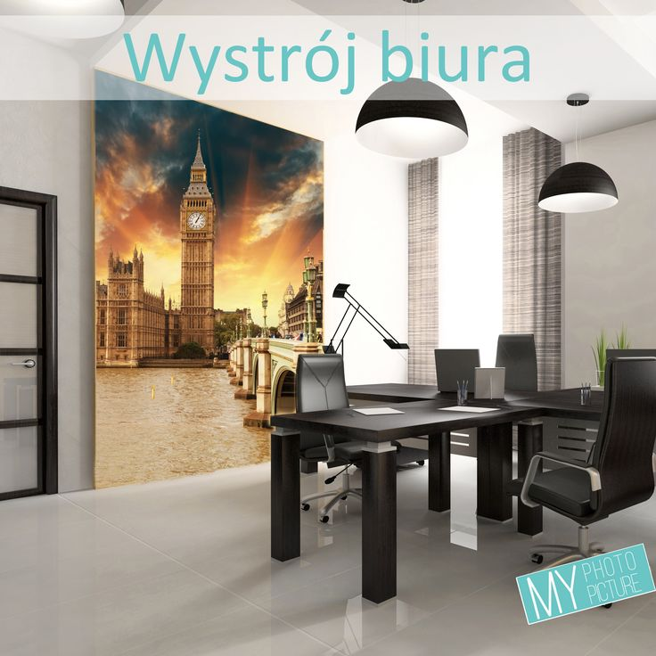 #Wystrój #biura, #naklejki na ścianę, #fototapeta, #okleina, #plakat