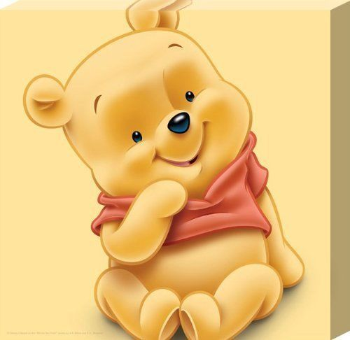 Baby Winnie the Pooh Adorable Canvas Perfect for Child's Bedroom or Nursery