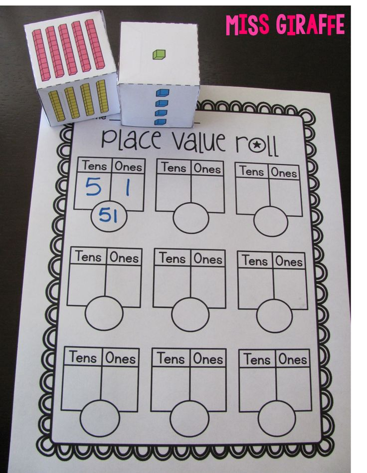 Place Value, Moving, and New Blog Design - Oh My!