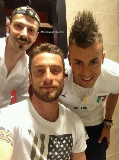 Marchisio and Stephan El Shaarawy