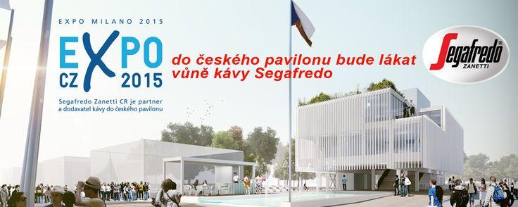 Segafredo Zanetti CR je partner a dodavatel kávy do českého pavilonu na Expo Milano 2015.