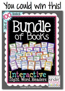 It's a Double Bundle Giveaway! - Kinder Craze: A Kindergarten Teaching Blog