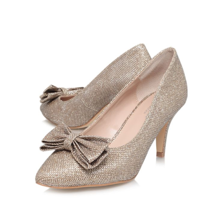 keeley, gold shoe by carvela kurt geiger - women shoes party shoes &  occasion