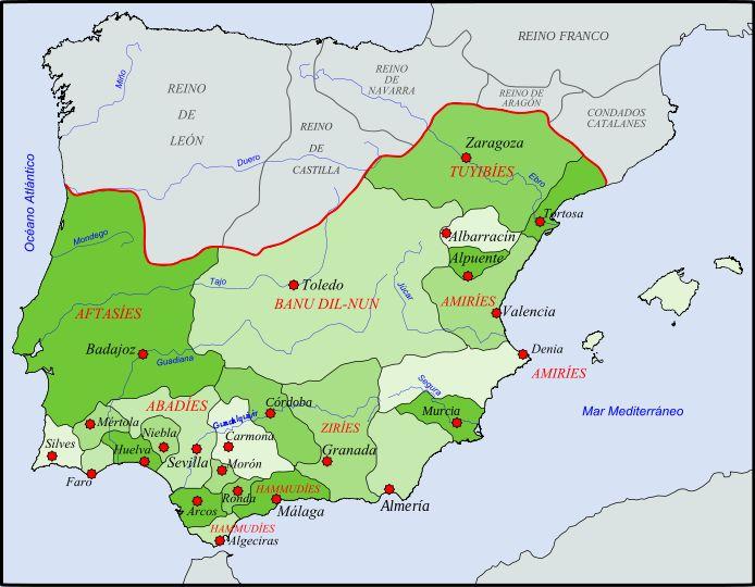 File:Reinos de Taifas en 1037.svg