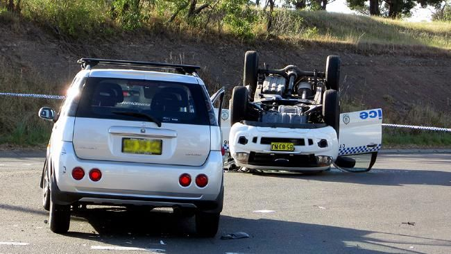 Four people were injured after police car overturned in 2013