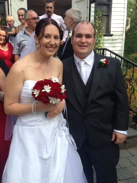 #wedding #bride #groom #reception #weddingreception #loveit #chateauwyuna #happycouple #congratulations #redroses #whiteroses