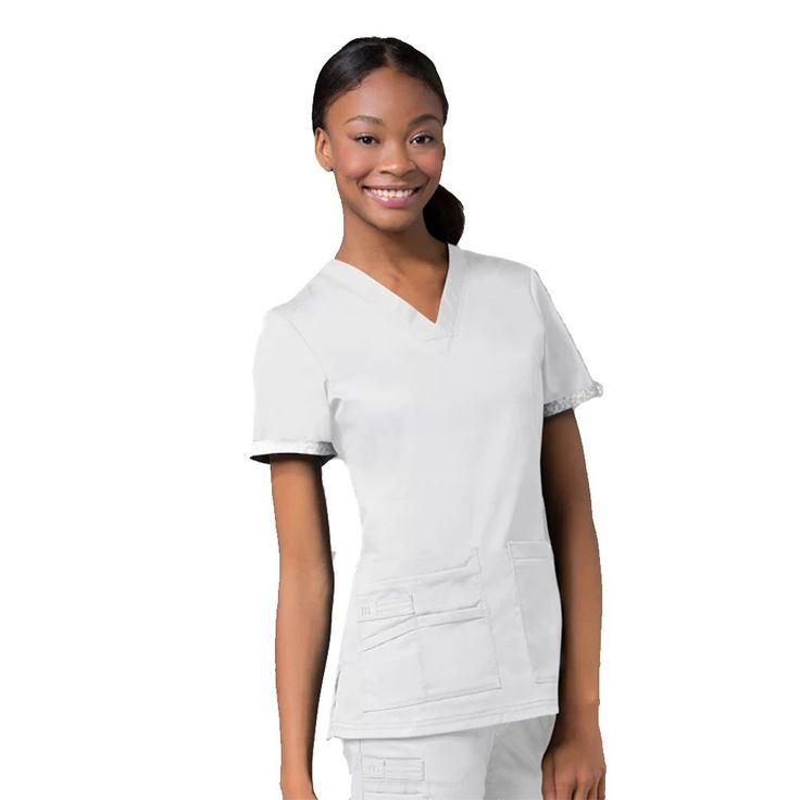Maevn PrimaFlex 1722 White. Are you looking for designer quality nurses uniforms, dental uniforms and healthcare scrubs. Try this Maevn uniform.