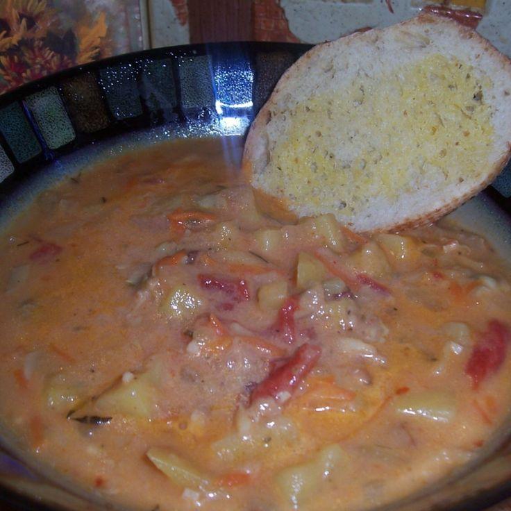 Pressure Cooker Manhattan Clam Chowder | Recipe | Eat ...
