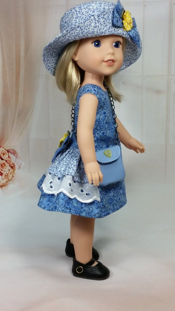 Welie Wisher Doll Shorts,Sweater,Hat and Purse