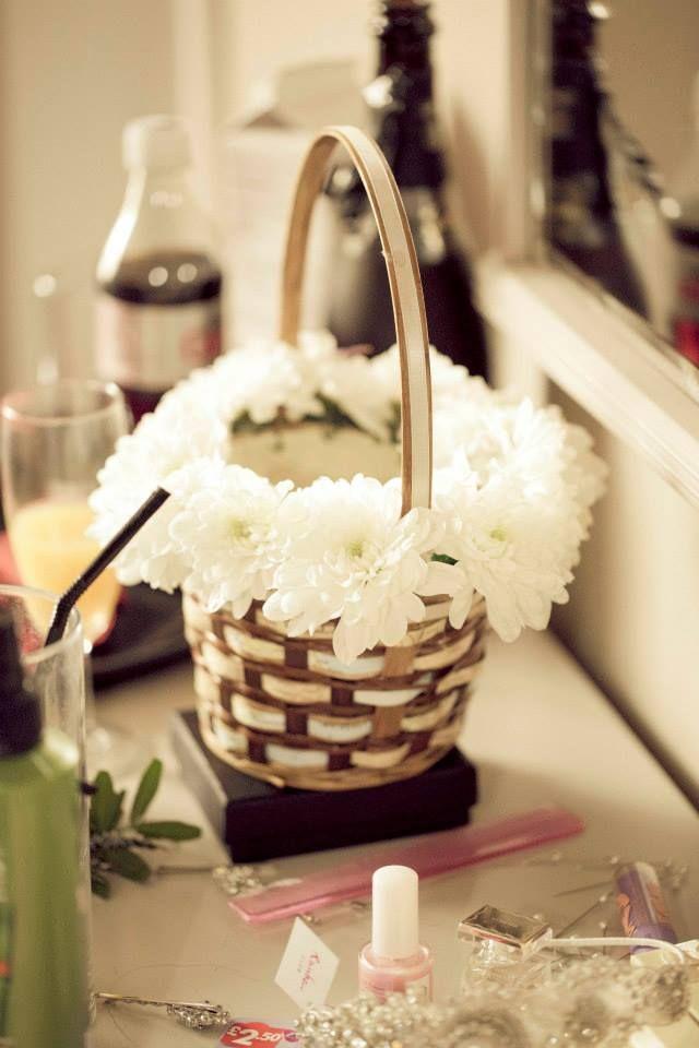 diy flower girl baskets instructions