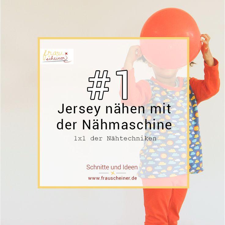 Jersey nähen mit der Nähmaschine ist leicht. Ich erkläre Dir, wie Du  ganz einfach neue Lieblingskleider selber nähen kannst. Dafür brauchst  Du kein besonderes Equipment sondern nur Deine Nähmaschine. Klamotten mit Jersey nähen ist leichter als viele denken. Insbesondere  für Nähanfänger kann es eine Hürde sein.