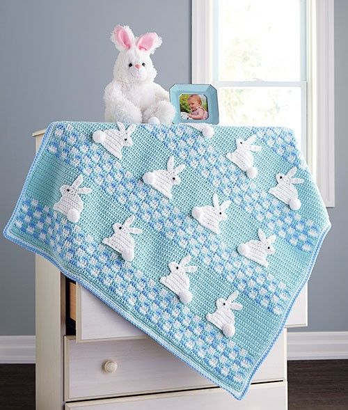 Your baby will fall in love with this adorable blanket. Kit includes Baby Value in (1) Blue (shown) or (2) Pink.